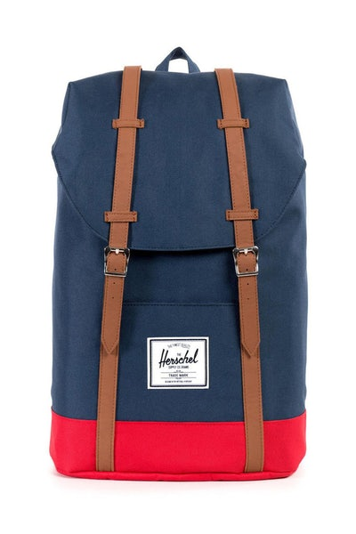 Herschel Supply Co Retreat Backpack Navy/Red/Tan