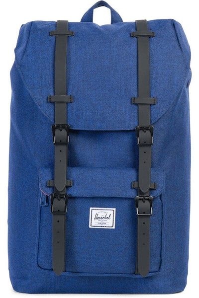 HERSCHEL SUPPLY CO LITTLE AMERICA MID-VOLUME RUBBER ECLIPSE/BLACK