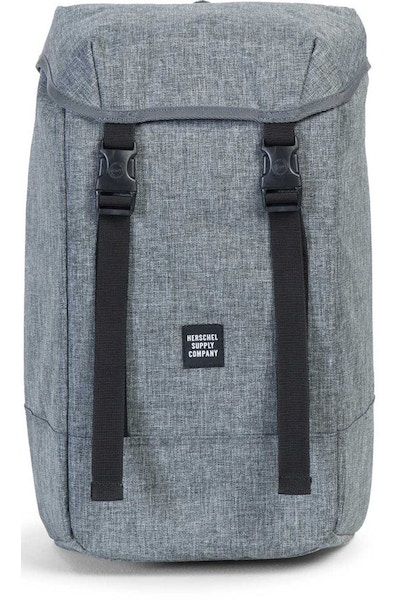 HERSCHEL SUPPLY CO IONA CROSSHATCH BACKPACK Charcoal/Black