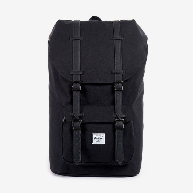 Herschel Supply Co Little America Backpack Black Black – Culture Kings 170eac7afc1ec