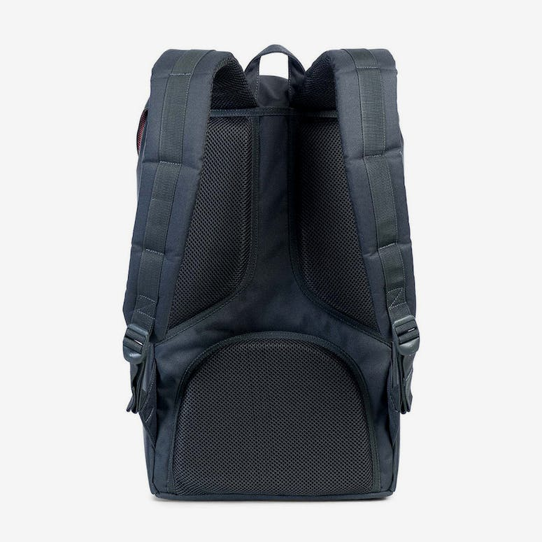 Herschel Supply Co Little America Backpack Dark Grey Black – Culture ... 2e3fb5f008eb7