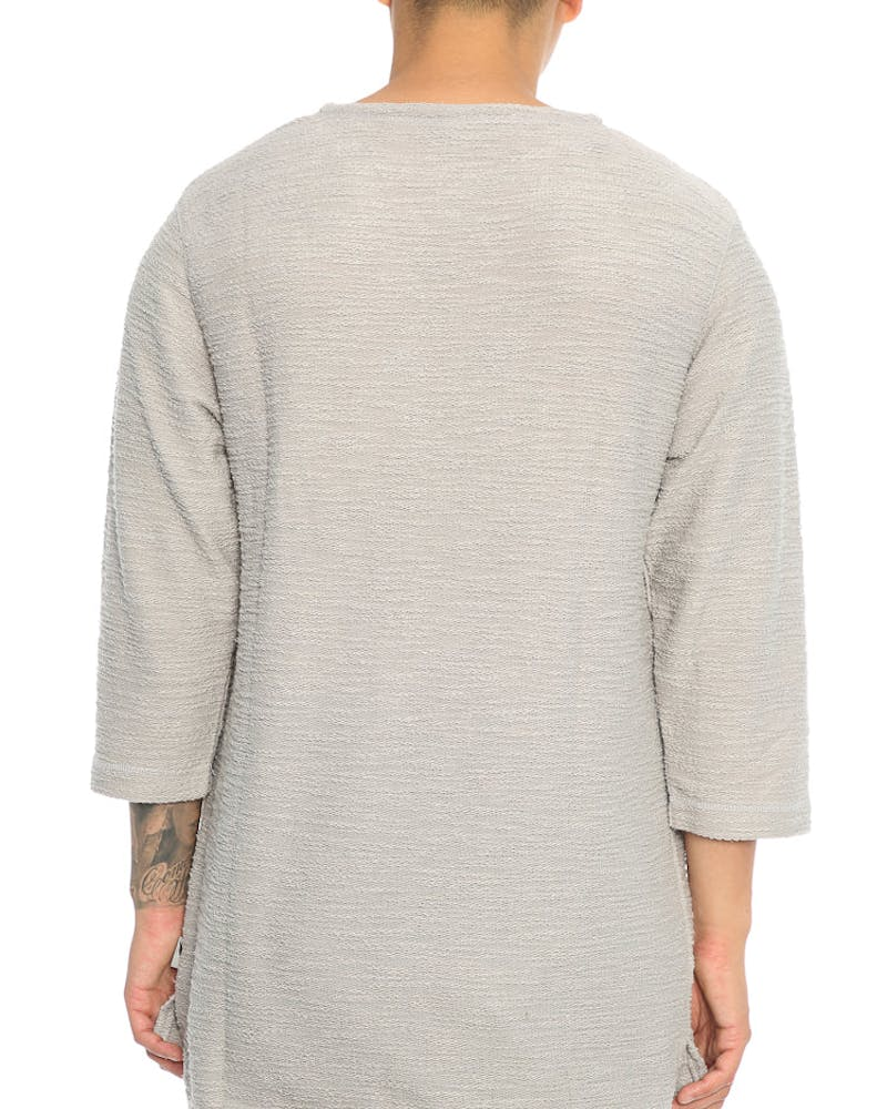 Publish Conor 3/4 Sleeve Tee Grey