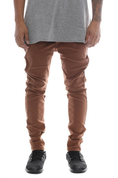 Saint Morta SM Slender S Skinny Jean Brown
