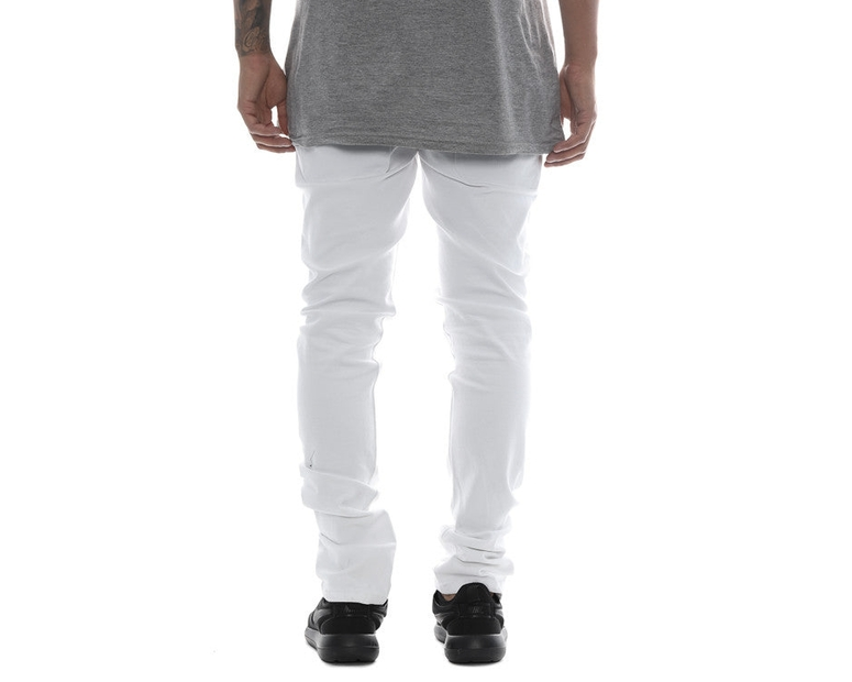 Carré Routine Slim Jeans White