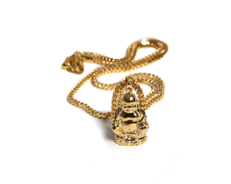 The GLD Shop Buddha Pendant 24