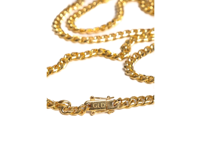 The GLD Shop Miami Cuban Link Chain 28