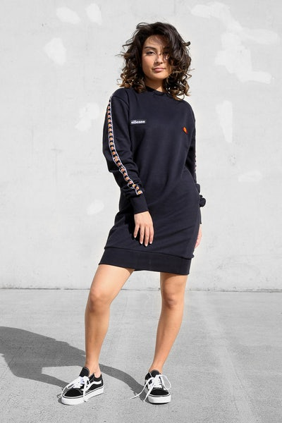 Ellesse Women's Cappero Sweater Dress Anthracite