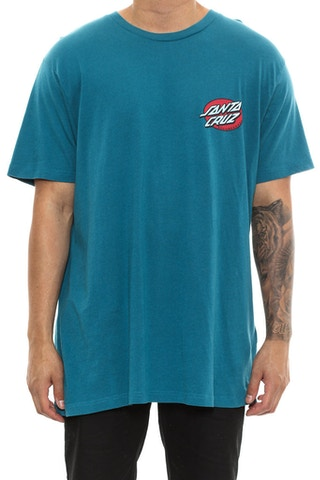 Santa Cruz Rob Face Tee Teal