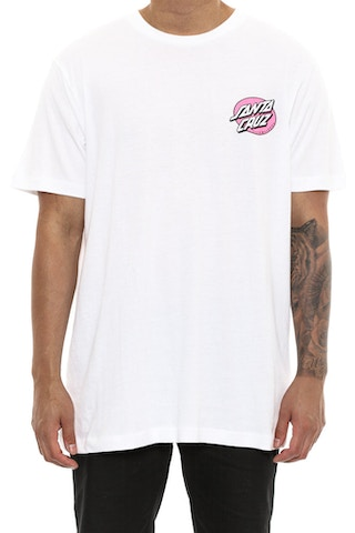 Santa Cruz Rob Face Tee White