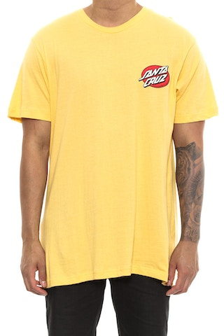 Santa Cruz Rob Face Tee Yellow