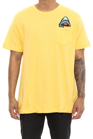 Santa Cruz Biter Tee Yellow