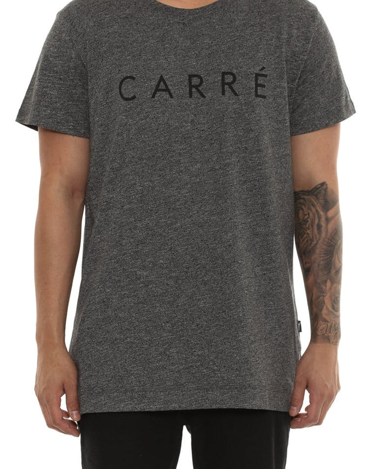 Carré Empilés Statique Tee Charcoal