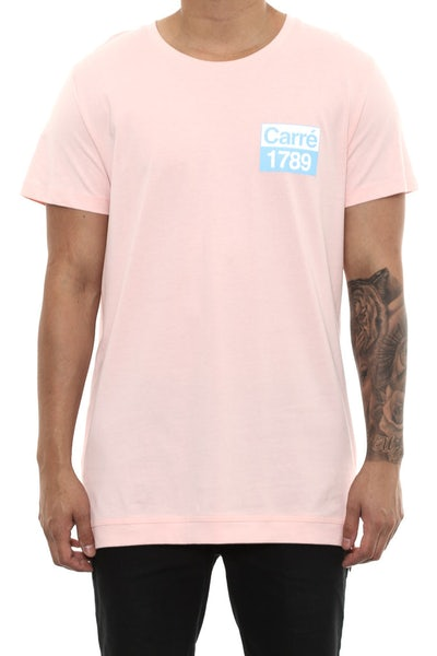 Carré Revolution Statique Tee Pink