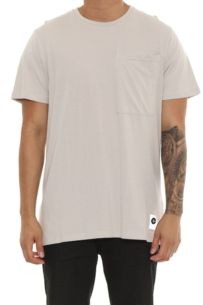 Cahill + O/S Pocket Tee Beige