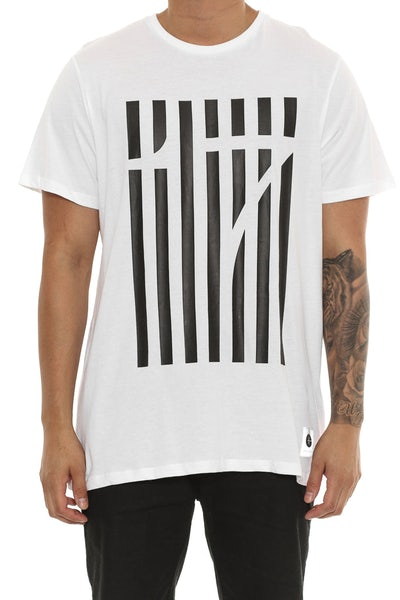 Cahill + Penalty Tee White
