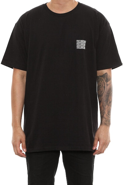 10 Deep Triple Stack Tee Black