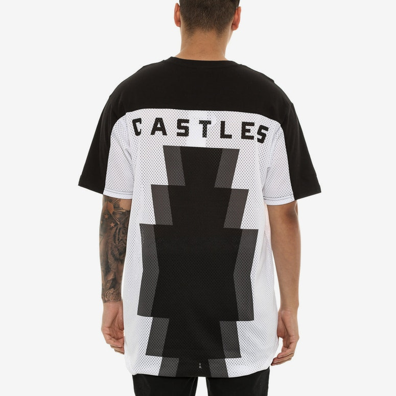 Crooks & Castles Tribal Soccer Jersey White/black