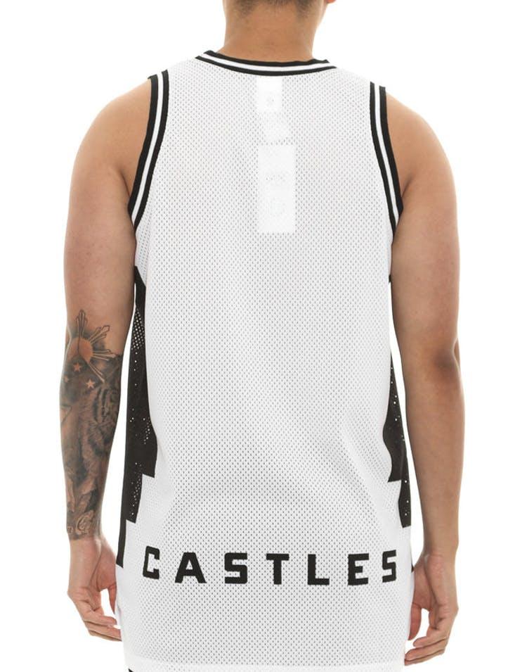 3d1e2c71 Crooks & Castles Tribal Basketball Jersey White – Culture Kings
