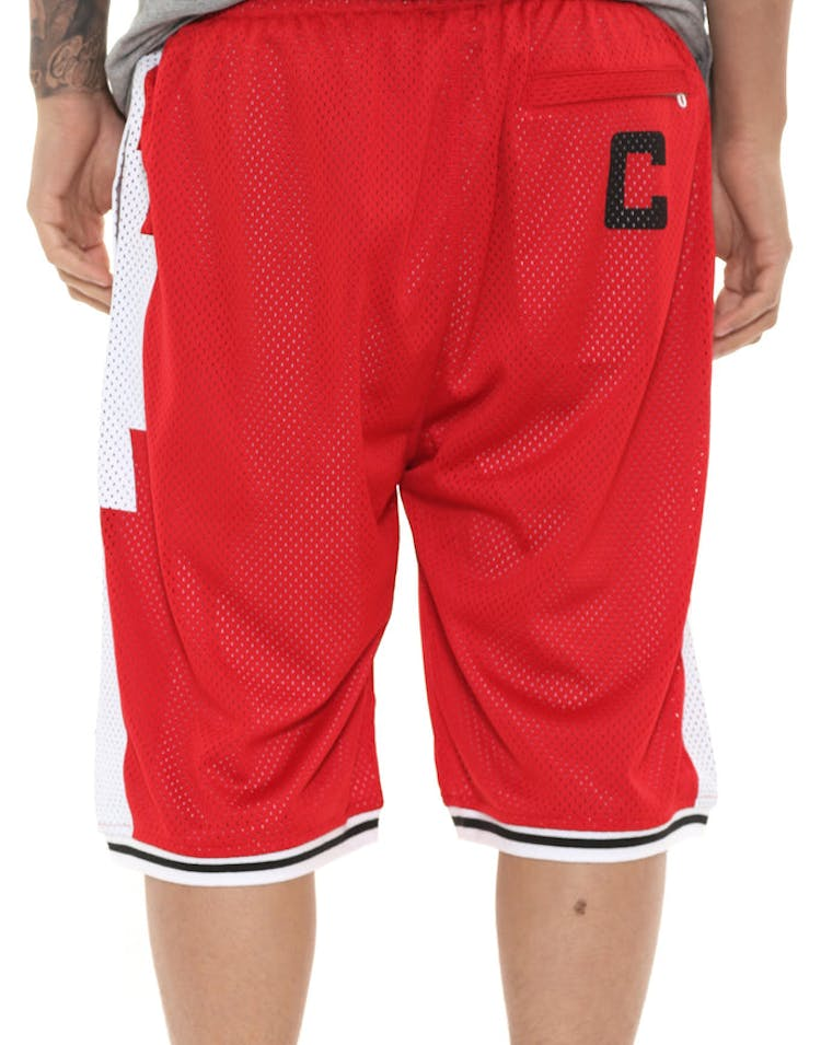74a1cefc Crooks & Castles Tribal Basketball Shorts Red – Culture Kings