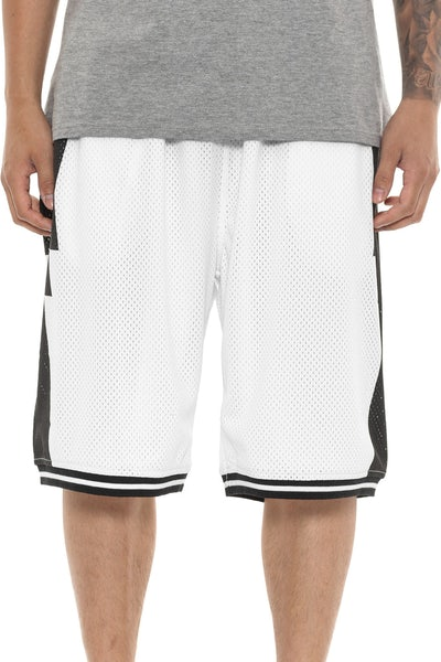 Crooks & Castles Tribal Basketball Shorts White