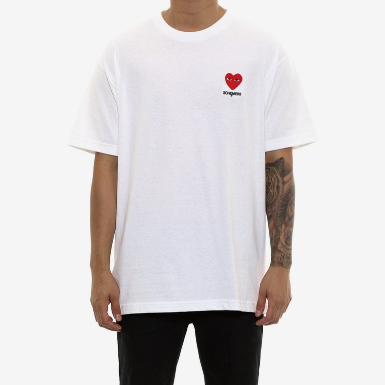 Grand Scheme Scheming Heart Tee White