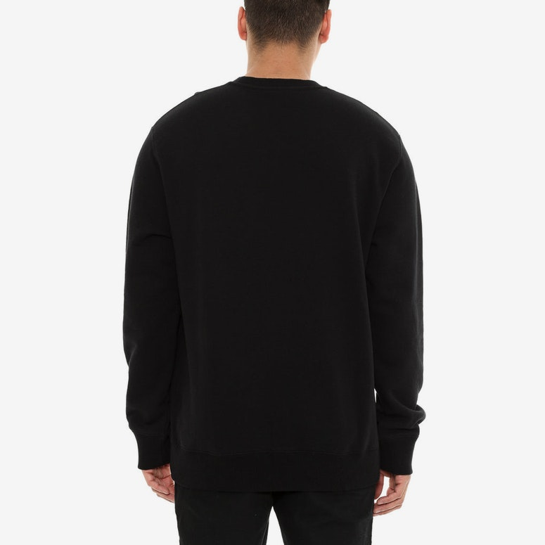 Carhartt USS Script Sweat Crew Black/White
