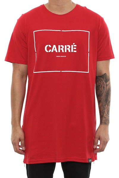 Carré Section Capone 2 Tee Cardinal