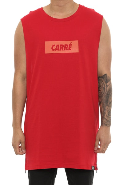 Carré incline Capone 2 Muscle Tee Cardinal