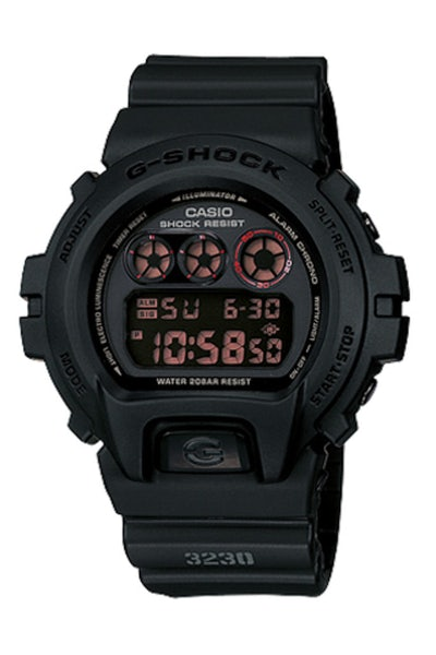 G-Shock DW6900MS Military Stealth Black/Black