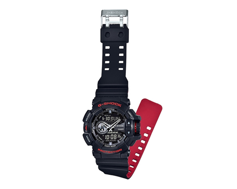 G-Shock GA400HR Heritage Series Black/Red