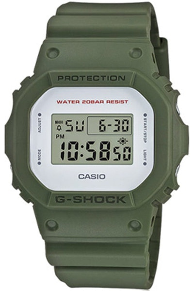 G-Shock DW5600M Matte Finish Series Army Green