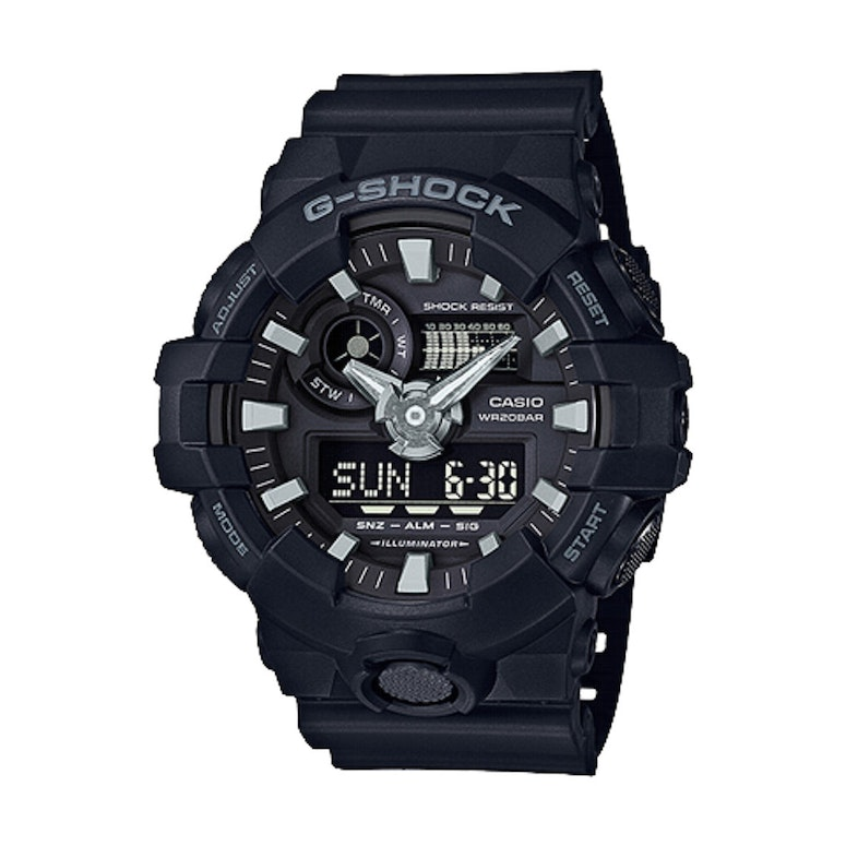 G-Shock GA700 Analog/Digital Black
