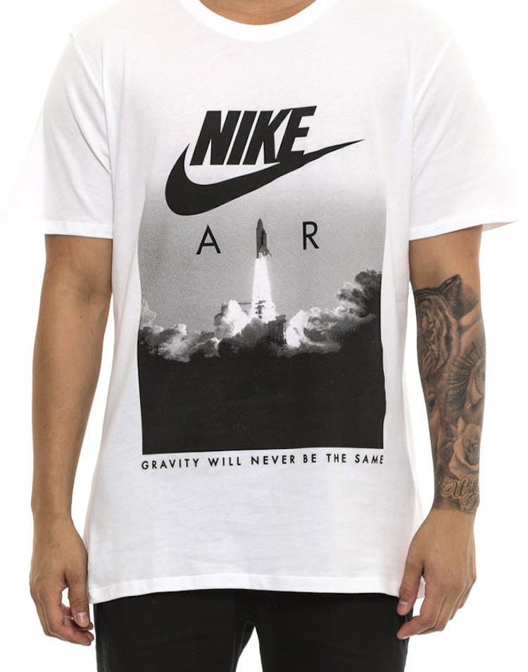 Admirable Nike Air Rocket Tee White Black Caraccident5 Cool Chair Designs And Ideas Caraccident5Info