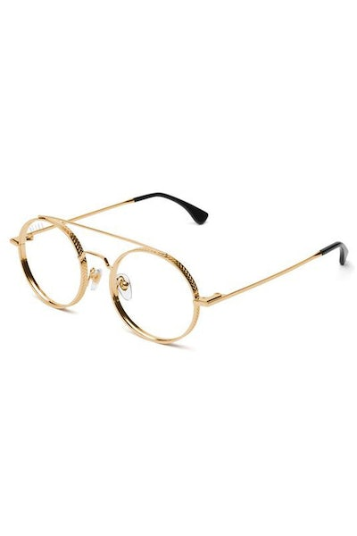 9Five 50 50 Clear Lens Gold/Tortoise