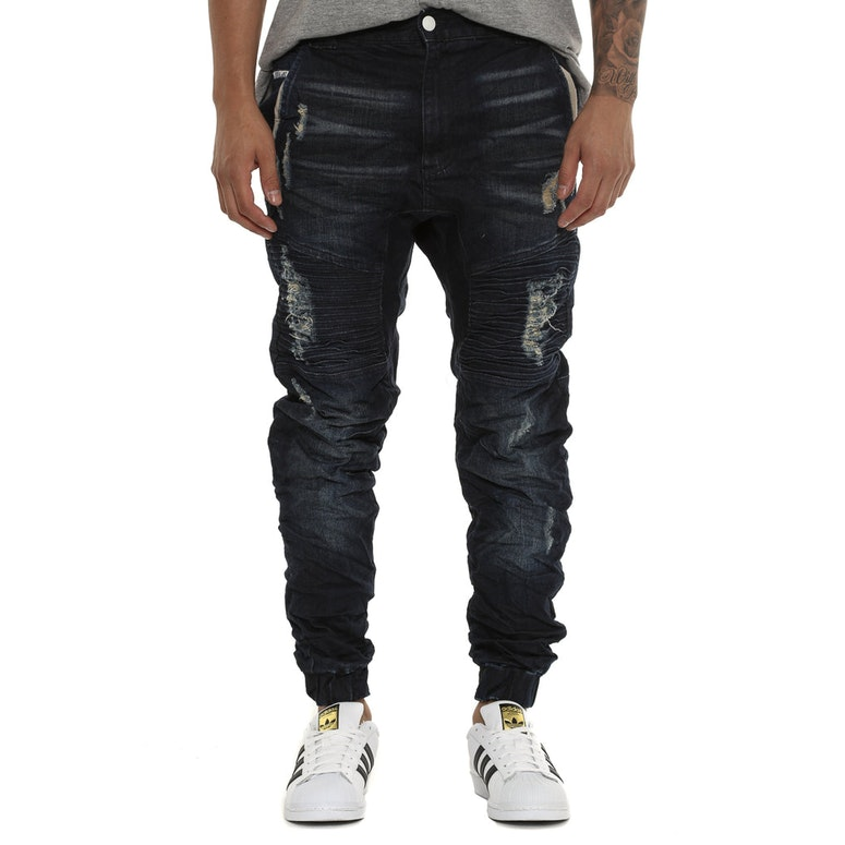 Nena and Pasadena Destroyer Jean Dark Denim