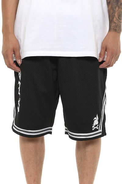 Crooks & Castles HEF Basketball Shorts Black