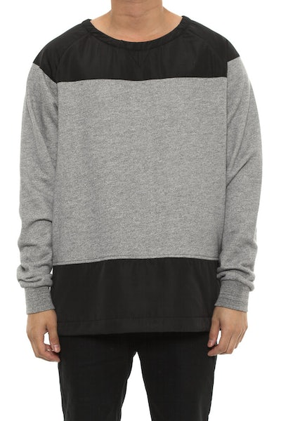 Crooks & Castles Challenger Sweatshirt Grey Speckle