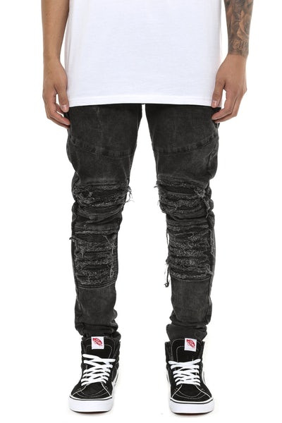 Other UK Clothing Limited V2 Roadworn Denim Black