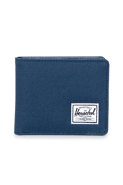 Herschel Supply Co Hank + Coin Wallet Dark Navy/Navy