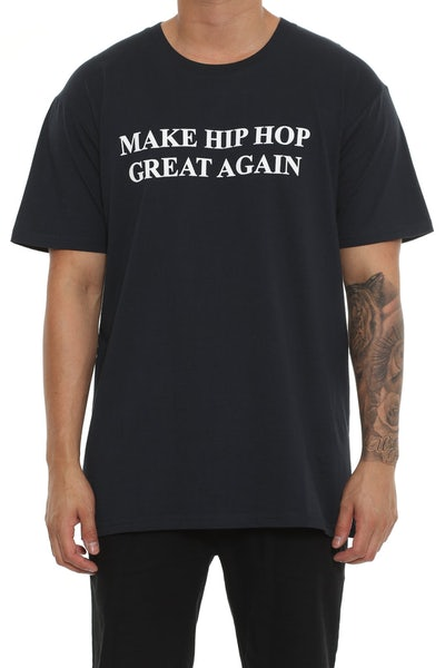 Goat Crew Great Again Tee Navy