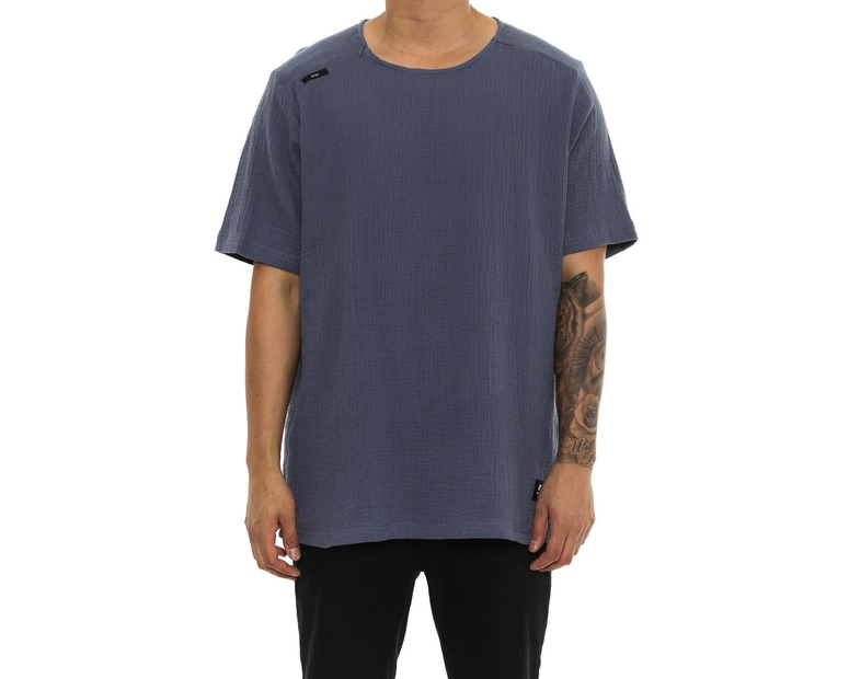 Shaun Johnson The Structured Tee Navy