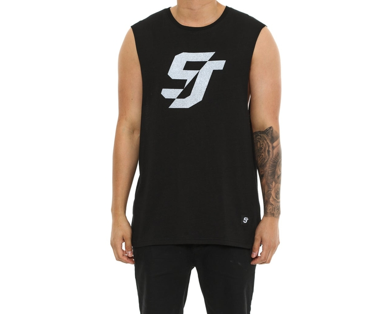 Shaun Johnson The Preshrunk Tank Black