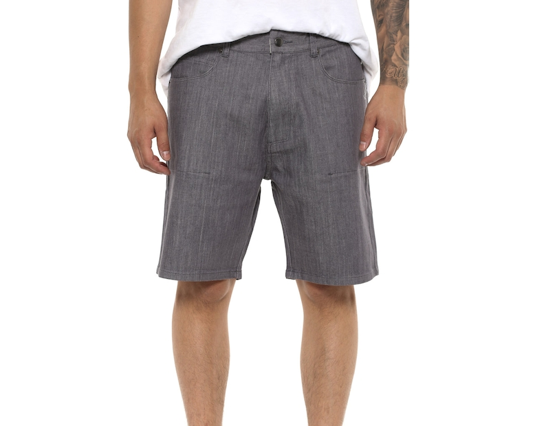Shaun Johnson The Tee Short Grey