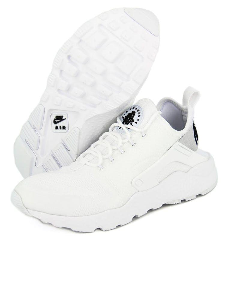 detailed look bcd88 99fc5 Nike Womens Air Huarache Run Ultra White Black