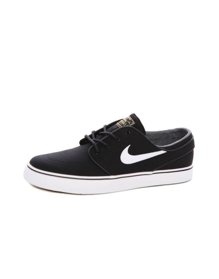 0dc607a00a Nike SB Air Zoom Stefan Janoski Canvas Black White