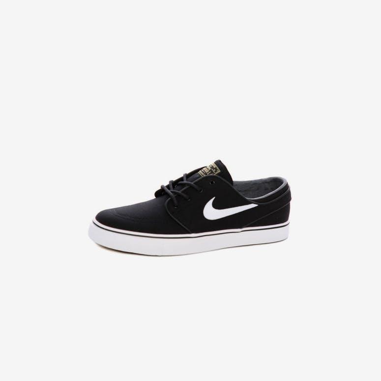 63997b0d46e Nike SB Air Zoom Stefan Janoski Canvas Black White