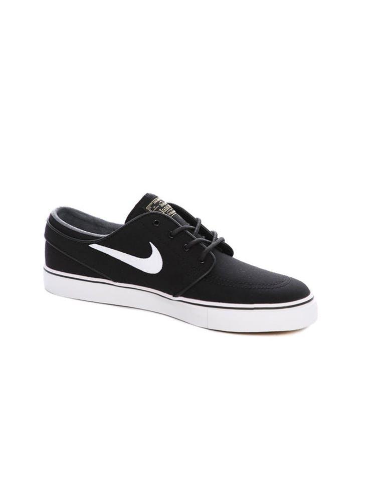 59ead31453bc Nike SB Air Zoom Stefan Janoski Canvas Black/White | 615957 028 ...