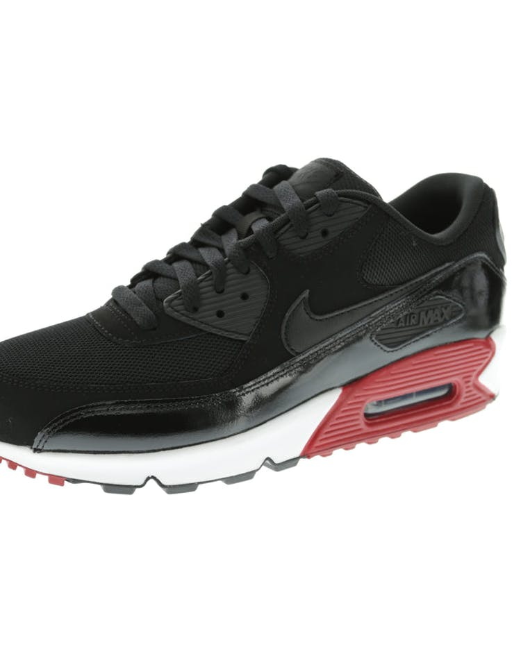 finest selection acfa8 f58ad Nike Air Max 90 Essential Black White Red   537384 066 – Culture Kings
