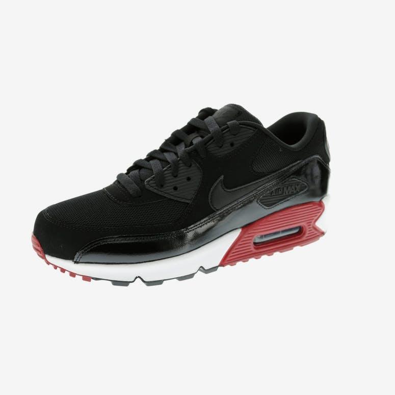 a76e80a2f7ce Nike Air Max 90 Essential Black White Red