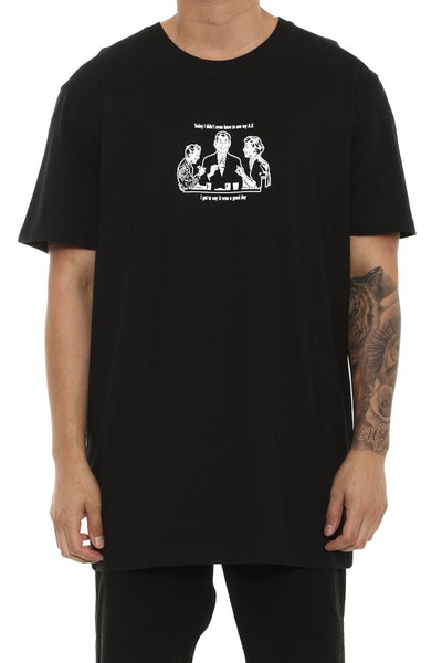 Goat Crew Good Day Tee Black